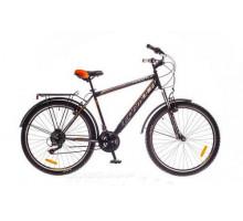 """Велосипед 26"""" Formula MAGNUM AM 14G Vbr рама-19"""" St черно-оранжевый (м) с багажником зад St, 2018"""