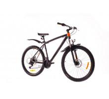 "Велосипед 26"" Formula BLIZZARD AM 14G DD рама-19"" St  серый с оранжевым (м)  2018"