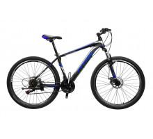 """Велосипед Titan Evolution 27,5""""17"""" Чёрный-Голубой-Серебро"""
