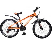 """Велосипед Cross Atlas 24"""" 12"""" orange-black-white"""