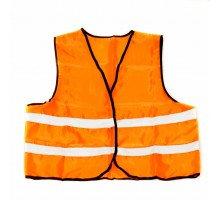 Жилет со светоотр. лентой Китай (цвет оранж) (ZG-0001)