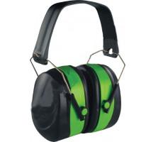 Наушники VITA с шумоподавлением 32dB зелёные усиленный наголовник (LN-0002)