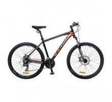 """Велосипед 26"""" Leon HT-85 AM 14G Vbr рама-18"""" Al черно-оранжевый 2017"""