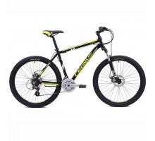 Велосипед CRONUS Coupe 3.0 (Рама 21)чёрный/зелёный