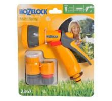 Пистолет-разбрызгиватель Hozelock Multi Spray + коннекторы 2185 + 2166 + 2184