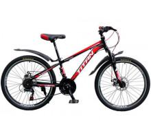 "Велосипед Titan Focus 24"" 12"" blue-silvery-white"