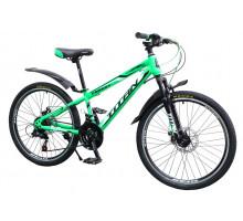 """Велосипед Titan Forest 24""""12"""" Зелёный-Чёрный-Белый"""