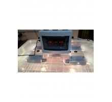 Инкубатор Курочка Ряба на 56 яиц авт+цифр, Пластиковый корпус вентилятор, ,С РЕГУЛЯТОРОМ ВЛАЖНОСТИ