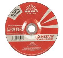 Диск зачисний по металу Vitals Master 180×6,0×22,2 мм