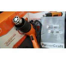 Строительный фен POWERCRAFT HG 2200jb