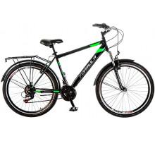 """Велосипед 26"""" Formula MAGNUM AM 14G Vbr рама-19"""" St черно-зеленый с багажником зад St, с крылом St 2017"""