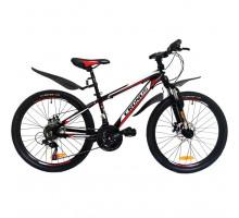 "Велосипед Cronus Best Mate 24"" Boy Black-Red (00184)"