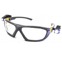 Очки  с 2-мя фонариками, стекло поликарбонат (ZO-0036)