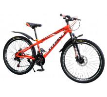 """Велосипед Titan Forest 24""""12"""" Оранжевый-Чёрный-Белый"""