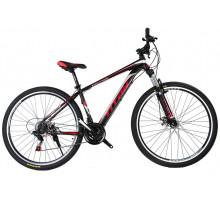"""Велосипед Titan Evolution 29""""17"""" Чёрный-Красный-Серебро"""