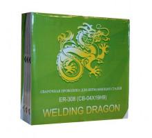Проволока Welding Dragon ER 308 1.0 мм 5 кг D200