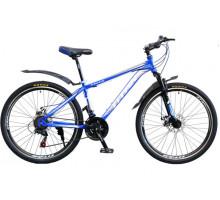 "Велосипед Titan Focus 26"" 15"" blue-silvery-white"