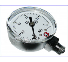 Манометр углекислотный 0-1МПа (AR-0009 )