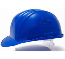 Каска строительная Украина (цвет синий) (PK-0005)