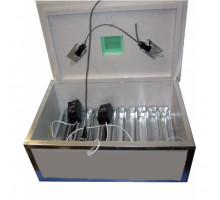 Инкубатор Наседка ИБ-70 на 70 яиц мех. переворот,терморег-р Аналоговый бока обшиты металлом, внутри нерж сетка