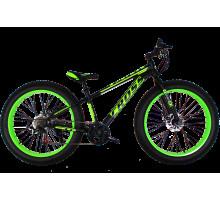 Фэтбайк (FatBike) велосипед Cross Tank 26″ (Black-Green)