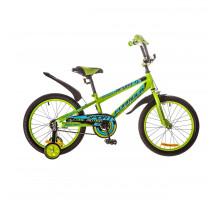 """Велосипед 18"""" Formula SPORT 14G рама-9,5"""" St зелено-синий с крылом Pl 2018"""