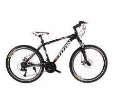 """Велосипед Titan Focus 24""""×12"""" (Black/Gray/Red)"""