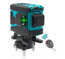 3D линейный лазерный нивелир KRAISSMANN 12 3D-LLG 25 RG Профессинальная линия